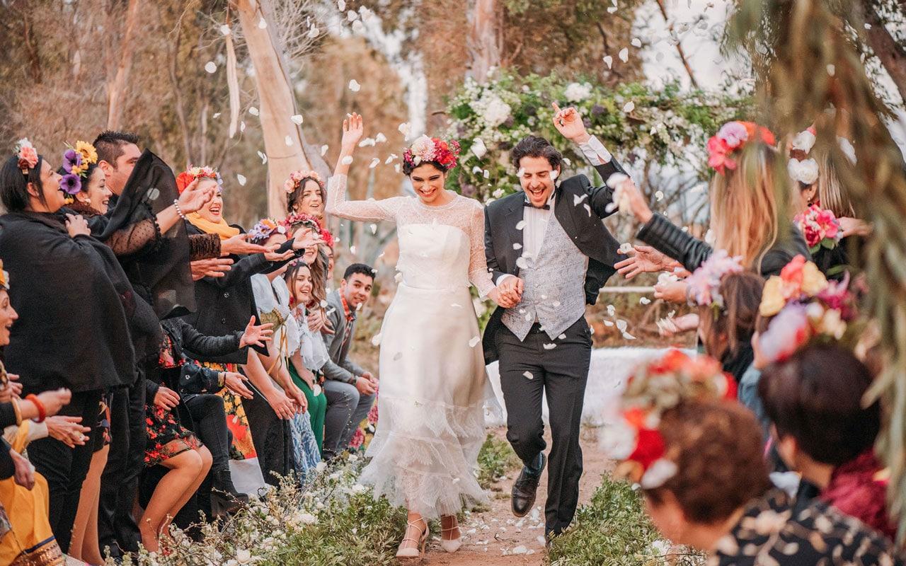 boda estilo Frida Kahlo